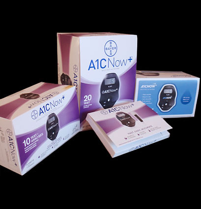 Metro Printing - Bayer A1C Now Thermoformed Packaging